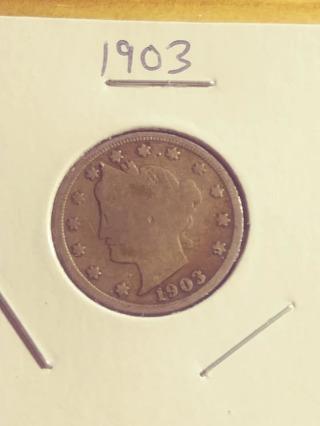 1903 Liberty V Nickel Victory! 58