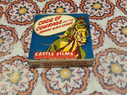 Code Of Courage Castle Films 16 MM Headline Edition