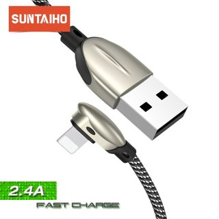 Suntaiho USB Cable for lighting cable for iphone XR phone charge for iphone xs max 8 7 Plus 6 5 SE
