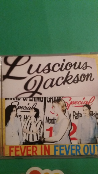 cd lucious jackson fever in fever out free shipping