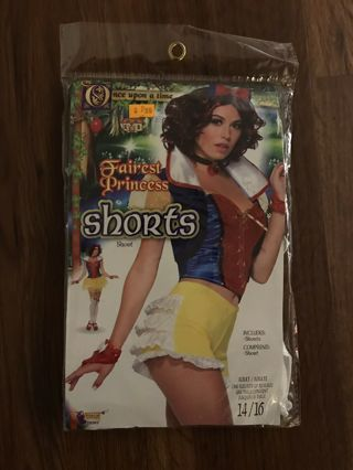 Womens Costume Shorts Size 14 / 16