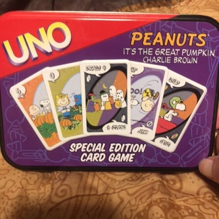 Peanuts UNO Playing Cards