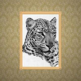 Leopard 5D DIY Diamond Painting Embroidery Rhinestones Cross Stitch Kit