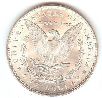 *REAL* BU 1889-P Morgan Silver Dollar Stunning Luster