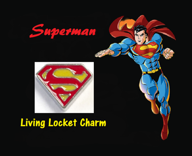 ❤ Superman ❤ Living Locket Charm(s) ☆VERIFIED USERS ONLY PLEASE☆