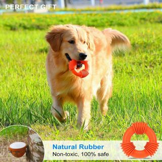 Dog Toys for Aggressive Chewers Large Breed Dog Chew Toy Rubber Non-toxic