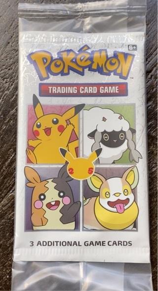 25th anniversary Pokémon