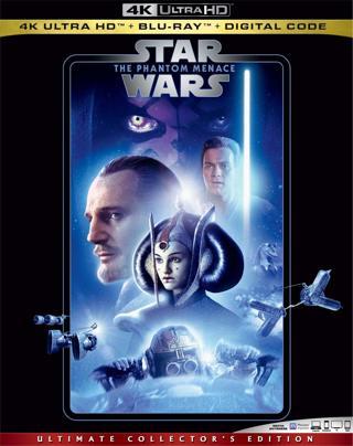 Star Wars : Episode I - The Phantom Menace (4K Digital UHD Download Code Only) **Sci-Fi**