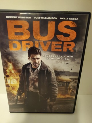 """DVD - """"Bus Driver"""" - not rated"""