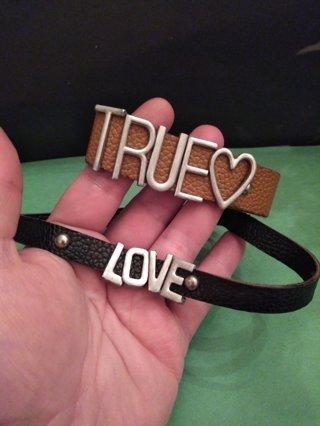 **TRUE BRACELET AND LOVE NECKLACE**