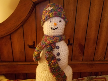 Snowman Bathroom Tissue Cover