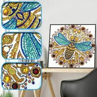 Bee 5D DIY Special Diamond Painting Embroidery Cross Stitch Kit Home Decor Craft