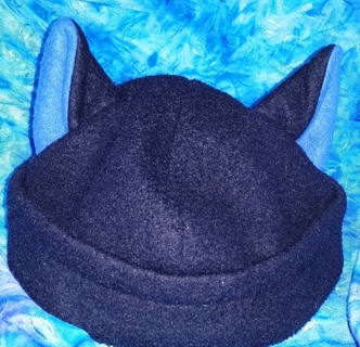 Fleece felt Cat Ears Stocking Cap