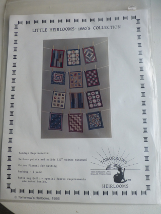 Miniature Quilt patterns