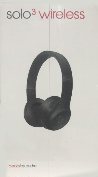 Black Beats by Dre Solo3 Headphones