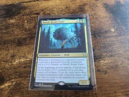 Magic the gathering mtg Sarulf Realm Eater rare card