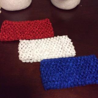 Three Crochet Headbands. #38