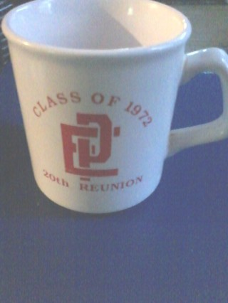 R.I coffee mug