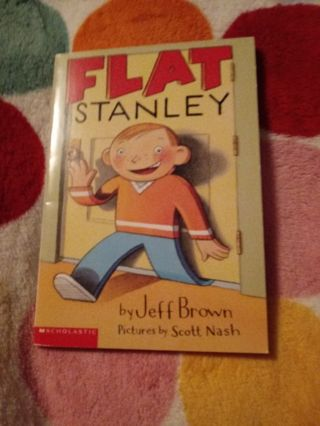 New Book Flat Stanley