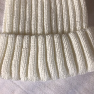 Beautifully Knitted Hat with Pompom.#04