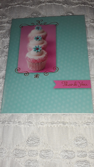 Thank You Notecards - Cupcakes