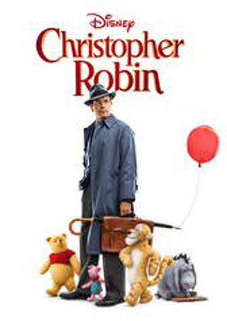 "Christopher Robin ""HDX"" DIGITAL MOVIE CODE ONLY DMA ~ MA ~ Movies Anywhere ~ VUDU"