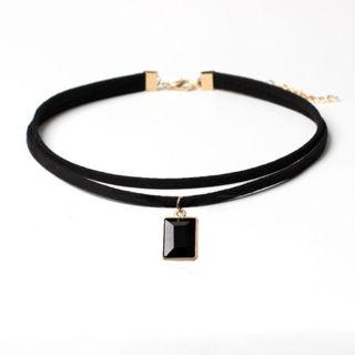 Collar Statement Choker Necklace Pendant Chain Vintage Jewelry Bib