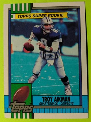 TROY AIKMAN TOPPS SUPER ROOKIE