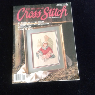 """Leisure Arts """"For the Love of Cross Stitch"""" Magazine."""