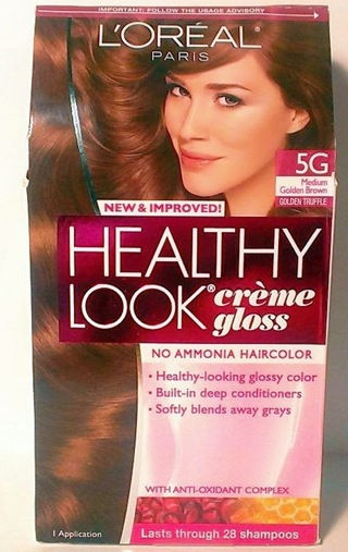 free loreal healthy look crme gloss color 5g medium golden brown - L Oral Gloss Color