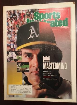 Vintage 1990 Sports Illustrated magazine