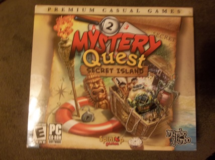 MYSTERY QUEST SECRET ISLAND Puzzle Mystery PC Game