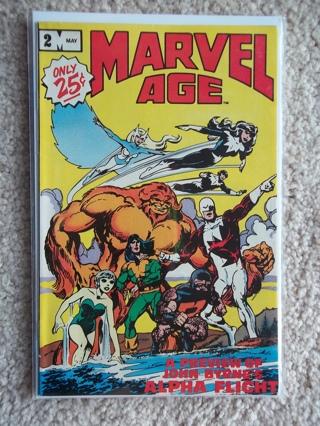 MARVEL AGE #2 1983