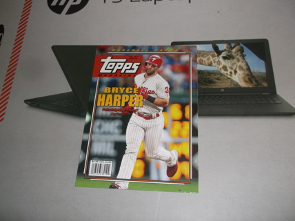 2019 Topps Archives Topps Magazine   bryce   harper    tm - 18    Philadelphia Phillies