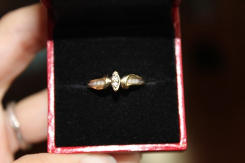 10KT Yellow Gold Engagement Ring or Wedding set
