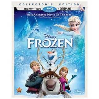 Frozen HD iTunes/ Vudu code plus DMR Points