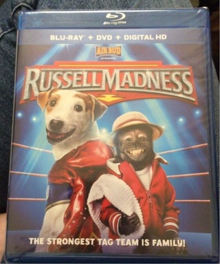 Air Bud -Russel Madness...the strongest tag team is family...