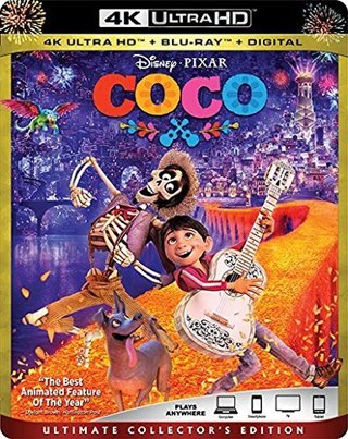 Disney's COCO Digital Code from 4K Movie