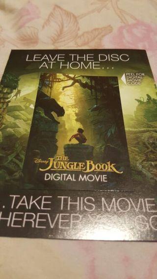 The JungleBook 2016 digital movie