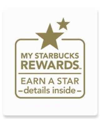 1 Starbucks ⭐️STAR⭐️ code