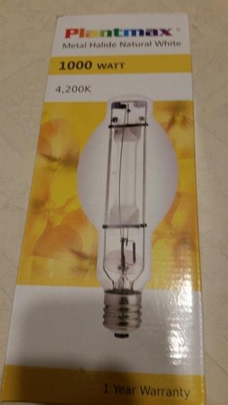 !!!Price Slashed!!!  PLANTMAX Metal Halide 1000 WATT (4,200K) GROW LIGHT