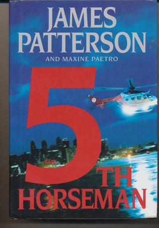 """5th Horseman,"" ,A Woman's Murder Club Mystery HC, Like New Condition, Ships Free w/GIN - BK-1019"