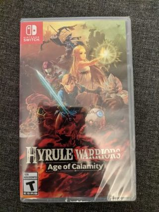 Hyrule Warriors: Age of Calamity Nintendo switch game brand new