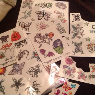 Glow In The Dark Tattoos and more!