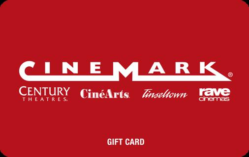Cinemark $23 E-giftcard