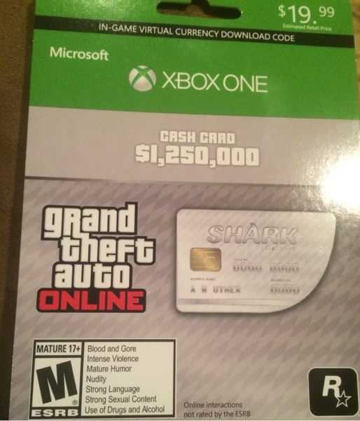 Redeem code for gta 5