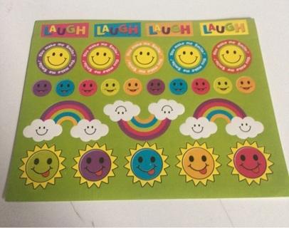 Smile stickers #5