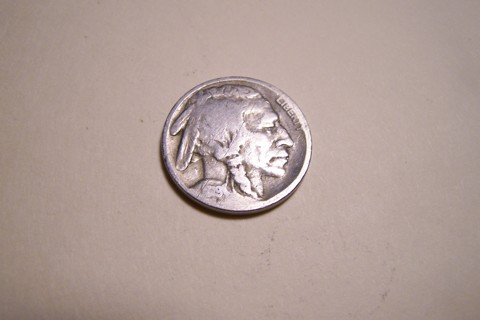 100 Years Old 1919 Buffalo Nickel