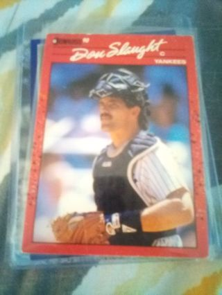 1990 Donruss #277 Don Slaught