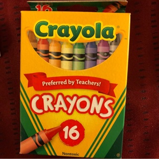 free new box of 16 crayola crayons smoother n brighter colors